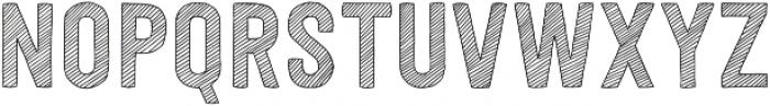 Festivo Letters No7 Regular otf (400) Font UPPERCASE
