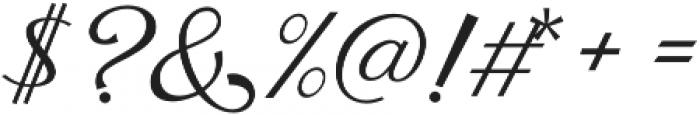 Fetima Regular otf (400) Font OTHER CHARS