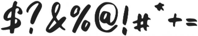 Fetuchene otf (400) Font OTHER CHARS
