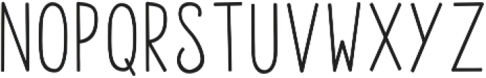 featherly tall otf (400) Font LOWERCASE