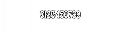 Ferguso Outline.ttf Font OTHER CHARS