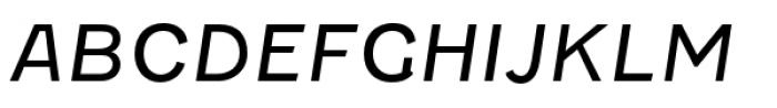 Fenwick Light Italic Font UPPERCASE