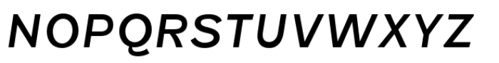 Fenwick Regular Italic Font UPPERCASE