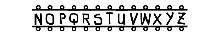 FE-Banner Font UPPERCASE