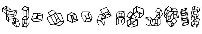 FE-BoxinaBox Font LOWERCASE