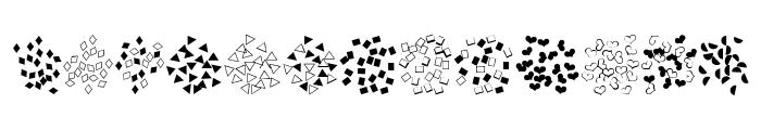 FE-Confetti Font LOWERCASE