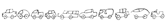 FE-FantastiqueCars Font OTHER CHARS