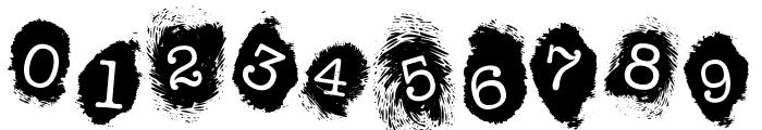 FE-FingerprintsInside Font OTHER CHARS