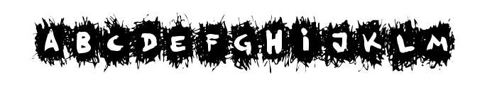 FE-KrikkelKrakkel Font UPPERCASE