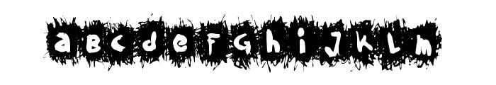 FE-KrikkelKrakkel Font LOWERCASE