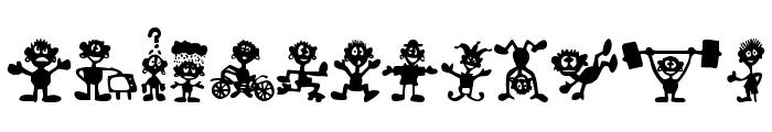 FE-LittleBigMan Font LOWERCASE