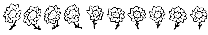 FE-Maja'sFlowers Font OTHER CHARS