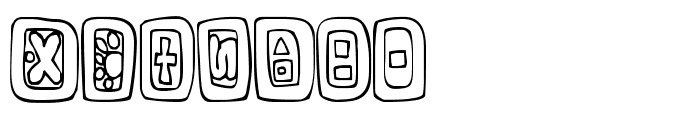FE-NaturalSigns Font LOWERCASE