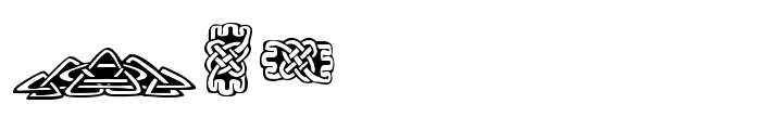 FE-TattooNo.1 Font LOWERCASE