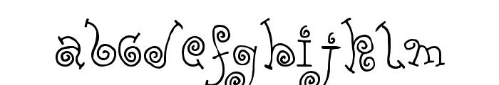 FE-Yolk Font UPPERCASE