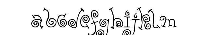 FE-Yolk Font LOWERCASE