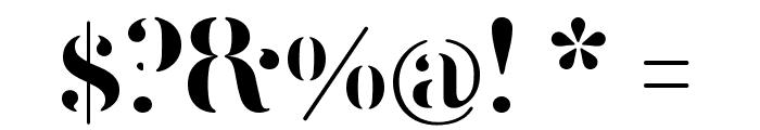 FEMORALIS Regular Font OTHER CHARS