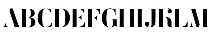 FEMORALIS Regular Font UPPERCASE