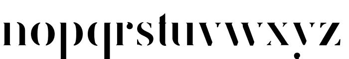 FEMORALIS Regular Font LOWERCASE
