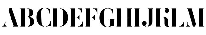FEMORALIS Font UPPERCASE