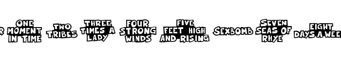 FESongABC Font OTHER CHARS