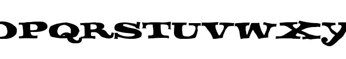 FETTECKE Font UPPERCASE
