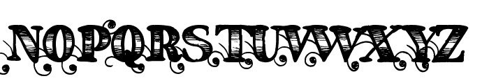 Fearing Madness Font UPPERCASE