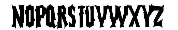 FearlessVampireKiller Font LOWERCASE
