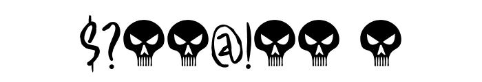 Fearsome DEMO Regular Font OTHER CHARS