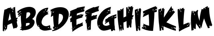 Feast of Flesh BB Font UPPERCASE