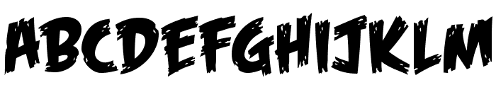 Feast of Flesh BB Font LOWERCASE