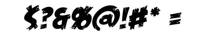 FeastofFleshBB-Italic Font OTHER CHARS