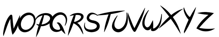FeatherScript Font UPPERCASE