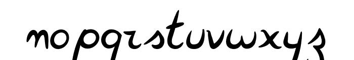 FeatherScript Font LOWERCASE