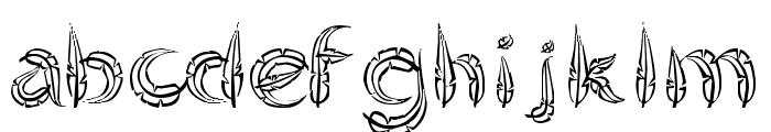 FeatheredFlight Font LOWERCASE