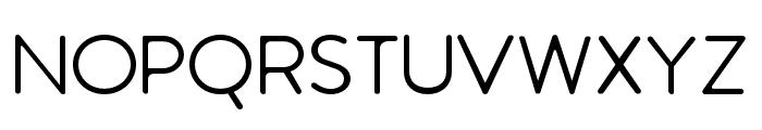 Febrero-Regular Font UPPERCASE