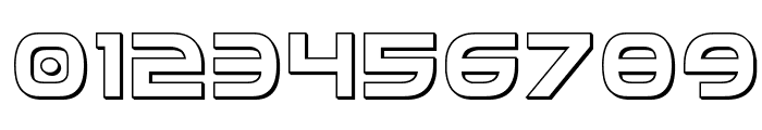 Federal Service 3D Regular Font OTHER CHARS