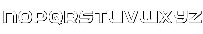 Federal Service 3D Regular Font UPPERCASE