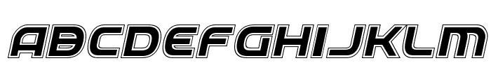 Federal Service Academy Italic Font LOWERCASE
