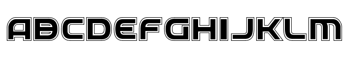 Federal Service Academy Regular Font LOWERCASE