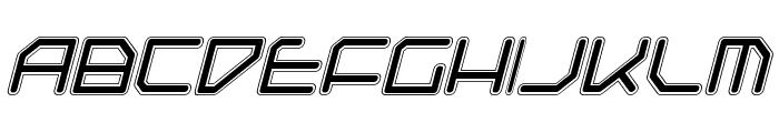 Federapolis College Italic Font LOWERCASE