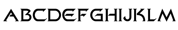 FederationClassicMovie Font UPPERCASE