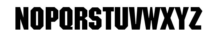 FederationHull Font LOWERCASE