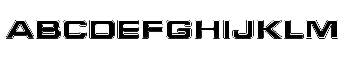FederationStarfleet Font UPPERCASE