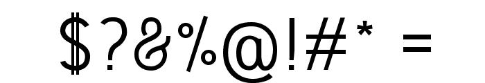 Fedora Font OTHER CHARS