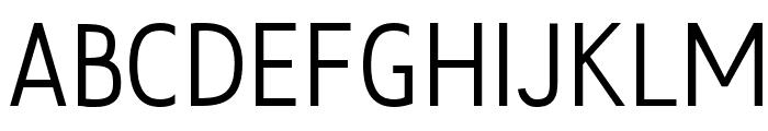 Fedora Font UPPERCASE