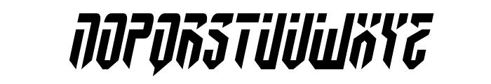 Fedyral II Semi-Italic Font UPPERCASE