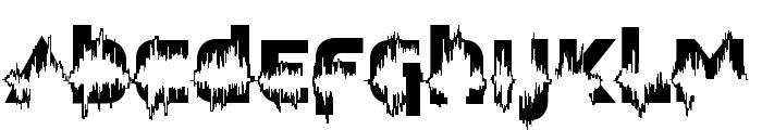 Feedback Loud Font UPPERCASE