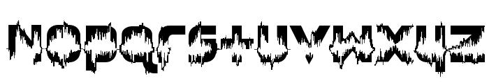 Feedback Loud Font LOWERCASE