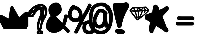 FeelinLikeGold Font OTHER CHARS